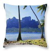 Tahiti, Bora Bora Throw Pillow
