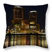 Tampa Bay History Center Throw Pillow