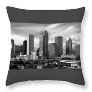 Tampa The Downtown Throw Pillow