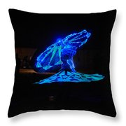 Tanoura Dancer Throw Pillow