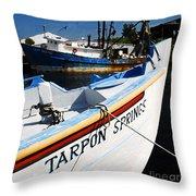 Tarpon Springs Throw Pillow