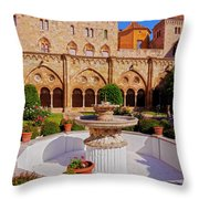 Tarragona, Spain Throw Pillow