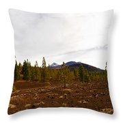 Teide  Nr 11 Throw Pillow