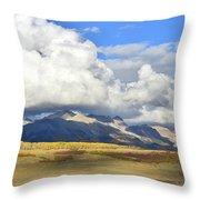 Telluride Skyline From Wilson Mesa Throw Pillow