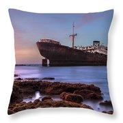 Temple Hall - Lanzarote Throw Pillow