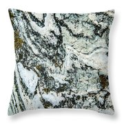 Temple Of Ceres Throw Pillow