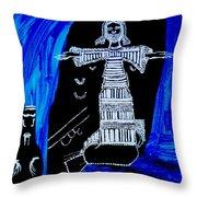 Temptation Of Jesus Throw Pillow