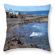 Tenesar - Lanzarote Throw Pillow