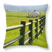 Tent Living Montana Throw Pillow