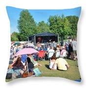 Tentertainment Music Festival 2015 Throw Pillow