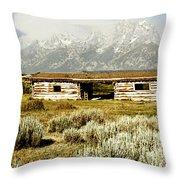 Teton Ranch Throw Pillow
