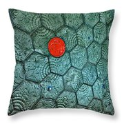 Textures. Gaudi. Throw Pillow
