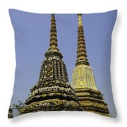 Thailand Architecture Throw Pillow