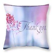 Thank You 1 Throw Pillow