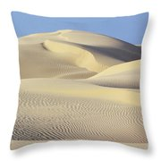 Thar Desert Dunes Throw Pillow