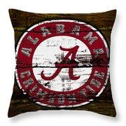 The Alabama Crimson Tide Throw Pillow