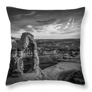 The Archway Bw Throw Pillow