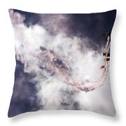 The Art Of Falling Down Throw Pillow