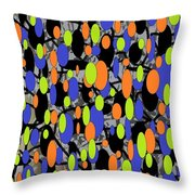 The Arts Of Textile Designs #58 Throw Pillow