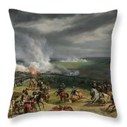 The Battle Of Valmy Throw Pillow