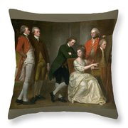 The Beaumont Family Throw Pillow