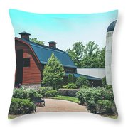 The Billy Graham Library Throw Pillow