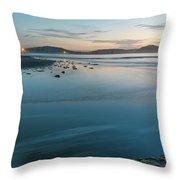 The Blues - Daybreak Seascape Throw Pillow