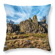 The Bomb Rocks Throw Pillow