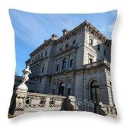 The Breakers Newport Rhode Island Throw Pillow