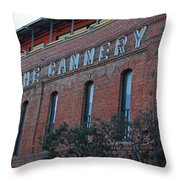 The Cannery Throw Pillow