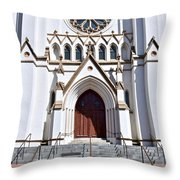 The Cathedral Of St. John The Baptist Throw Pillow