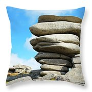 The Cheesewring Throw Pillow