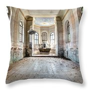 The Church Of The Exaltation Of The Holy Cross Throw Pillow