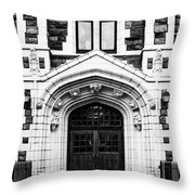 The City College Of New York Throw Pillow