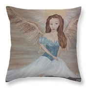 The Clearing After The Wind Dance Throw Pillow