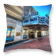 The Commodore Theatre Throw Pillow