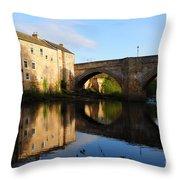 The County Bridge Throw Pillow