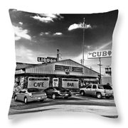 The Cub - Surreal Bw Throw Pillow
