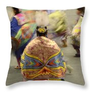 Pow Wow The Dance 4 Throw Pillow