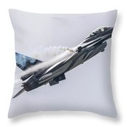 The Dark Falcon Throw Pillow
