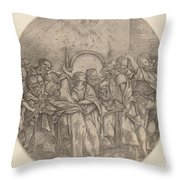 The Descent Of The Holy Spirit Throw Pillow