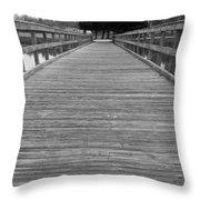 The Dock Throw Pillow