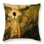 The Dream Of The Earth Throw Pillow