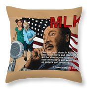 The Dream Speech Throw Pillow
