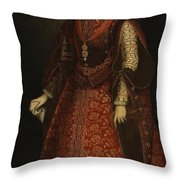 The Empress Isabel Of Portugal Throw Pillow