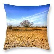 The Farm Tree Throw Pillow
