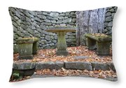 The Fells Historic Estate In Newbury Nh Usa Throw Pillow