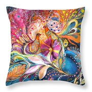 The Flowers Of Sea Throw Pillow