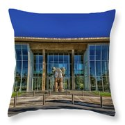 The Fort Worth Modern Art Museum Throw Pillow