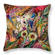 The Gestures Of Love Throw Pillow